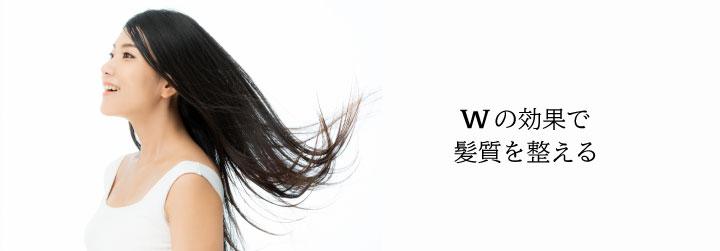 髪質を整える